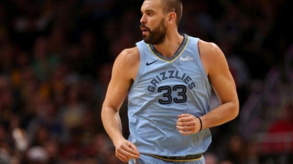 NBA: Marc Gasol quitte Memphis pour Toronto