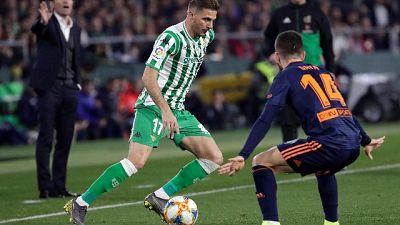 Coppa Re: beffa Betis, 2-2 con Valencia