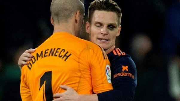 Coupe du Roi: Gameiro sauve Valence contre le Betis
