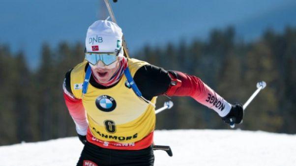 Biathlon: Boe poursuit son show à Canmore