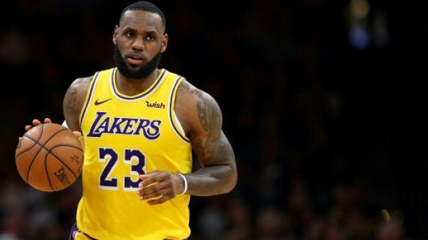 NBA: LeBron James avec Kyrie Irving et Anthony Davis au All Star Game