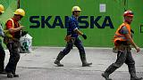 Skanska fourth-quarter operating profit, 2018 dividend lag expectations