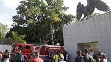مقتل 10 في حريق بنادي فلامنجو البرازيلي