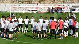 Entraînement de l'AS Monaco, le 17 septembre 2018 à La Turbie