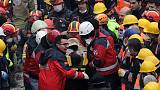 Teenager rescued two days after Istanbul building collapse