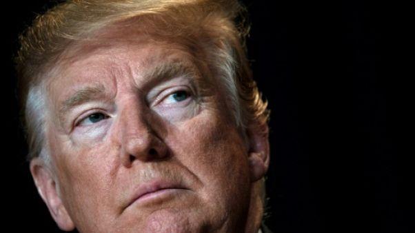 Le président américain Donald Trump, le 7 février 2019 à Washington