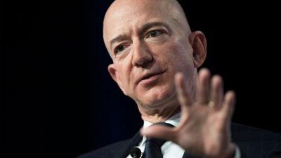 Jeff Bezos à Oxen Hill (Maryland), le 19 septembre 2018