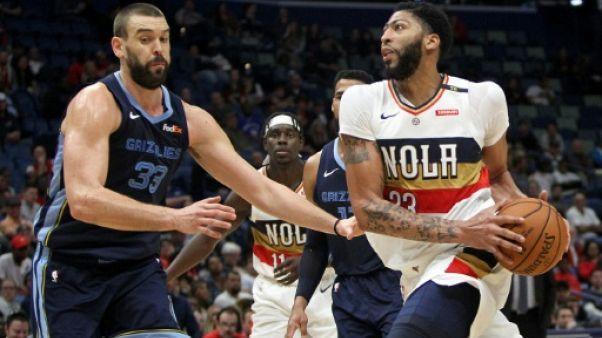 NBA: Memphis n'attribuera plus le maillot N.33 porté par Gasol