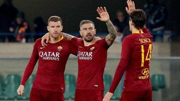 Serie A: Chievo-Roma 0-3