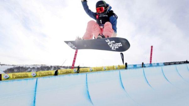 Mondiaux de freestyle: première pour Kim, triplé pour James en snowboard halfpipe