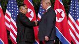 ترامب يقول إن اجتماعه مع الزعيم الكوري الشمالي سيعقد في هانوي