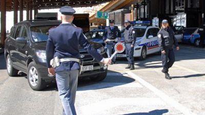 M.Bianco,fermato furgone con 12 migranti