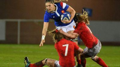 """XV de France féminin: """"Oui, on est en mission"""", dit Lenaïg Corson"""
