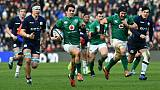 Six nations: l'Irlande s'impose en Ecosse