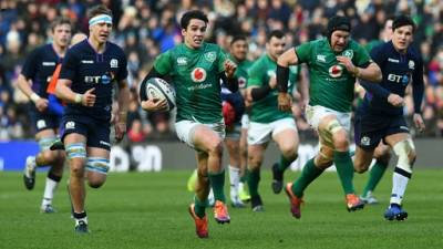 Six nations: l'Irlande s'impose en Ecosse