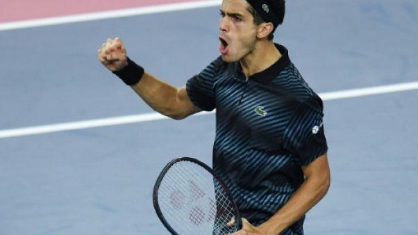 Tennis: Herbert s'offre Berdych et file en finale à Montpellier