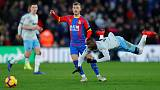Zaha earns Palace a point at home to West Ham