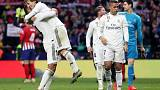 Real back in title fight after Madrid derby victory