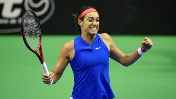Fed Cup: retour gagnant pour Garcia, les Bleues bien lancées