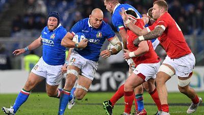 Rugby: 6 Nazioni, Italia-Galles 15-26