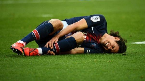 """PSG: pour Cavani, Tuchel craint une blessure """"musculaire"""""""