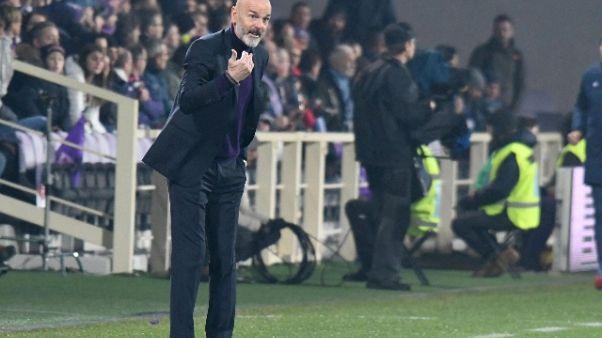 Fiorentina: Pioli, ho visto coraggio