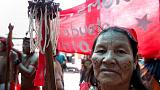 Indigenous Pemon on Venezuela's border with Brazil vow to let aid in