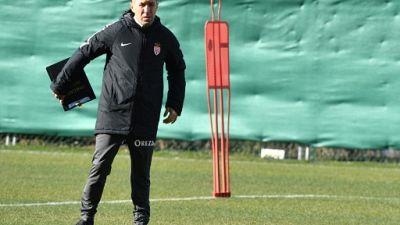 L'entraîneur de l'AS Monaco Leonardo Jardim, le 8 février 2019 à la Turbie