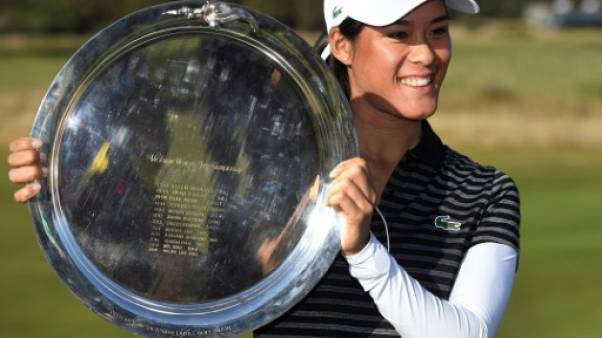 Golf: Céline Boutier remporte son premier titre LPGA au Vic Open