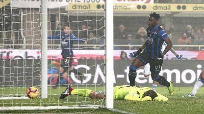 Serie A: 2-1 alla Spal, Atalanta quarta