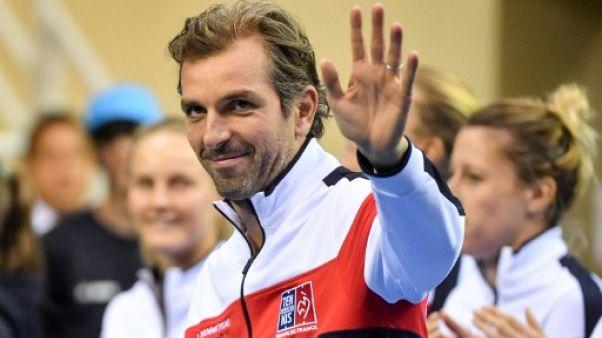 Fed Cup: Julien Benneteau, capitaine parfait