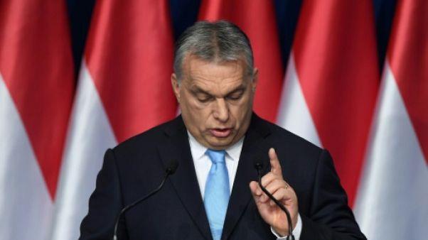 """Elections européennes: Orban se pose en défenseur des """"chrétiens"""""""