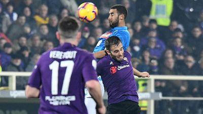 Fiorentina: ansia per Pezzella