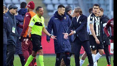 Udinese: Pradè,errore clamoroso su Okaka