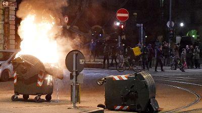 Rogo a Torino, crolla capannone carcere