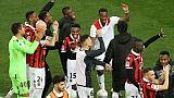 Ligue 1: coup d'arrêt pour Lyon à Nice, qui s'invite dans la course à l'Europe