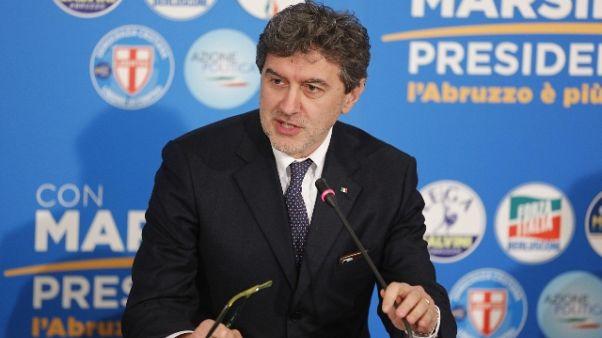 Abruzzo, Marsilio avanti con il 48,5%