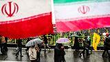 Iran vaunts military, taunts U.S. as revolution turns 40