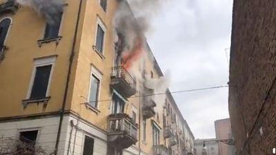 Incendio in appartamento a Venezia