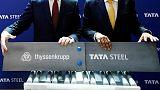 Exclusive: EU regulators set to warn Thyssenkrupp, Tata Steel on steel JV - sources