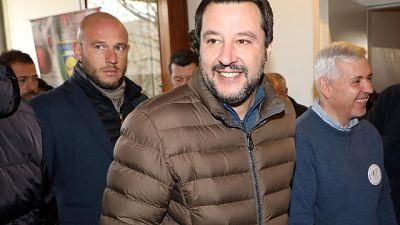 Via querela, Salvini-Buffagni fanno pace