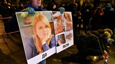 Ukraine: un élu poursuivi pour l'attaque à l'acide d'une militante