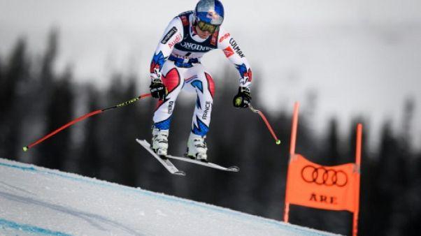 Mondiaux de ski: les Français gardent espoir après la descente du combiné