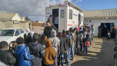 US$ 43.5 million needed to provide life-saving health aid in Libya in 2019