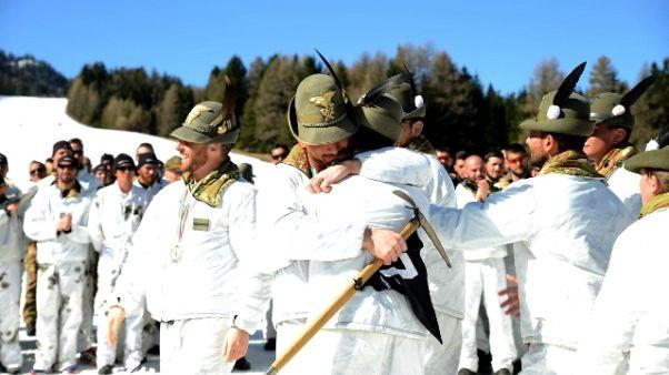 Esercito, campionati Casta in Alto Adige