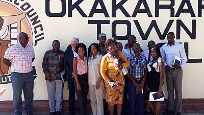 Member of German Parliament Ottmar von Holtz visits Namibia