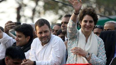 Inde: des milliers de personnes pour le premier meeting de Priyanka Gandhi