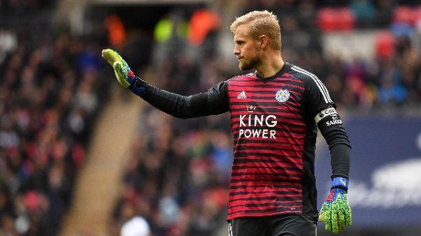 Kasper Schmeichel lascerà il Leicester