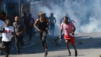 Haïti en proie à des manifestations violentes, mutisme du pouvoir