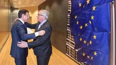 Conte, domani incontra Juncker e Tajani